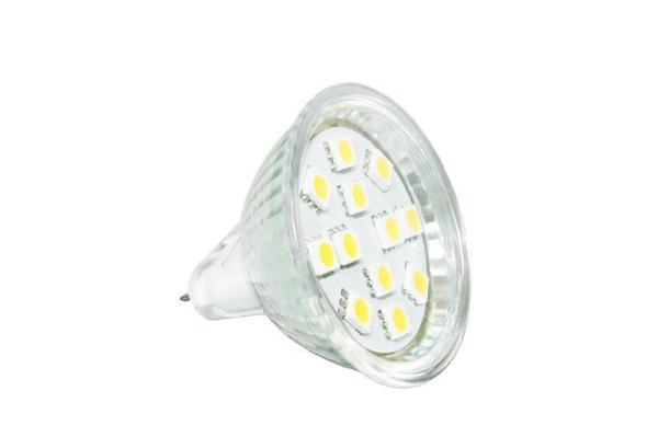 MR16LED lampje 12LEDS verpakt