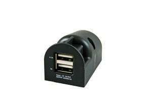 12 Volt USB contactdoos opbouw max. 3.1A verpakt