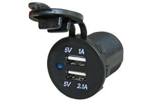 Power Line USB lader 3.1A verpakt