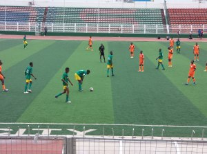 Efe Obasuyi on the big stadium