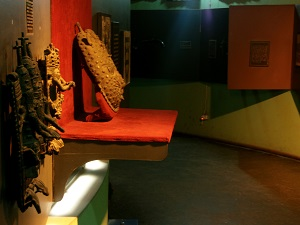 A exhibit at Benin Museum