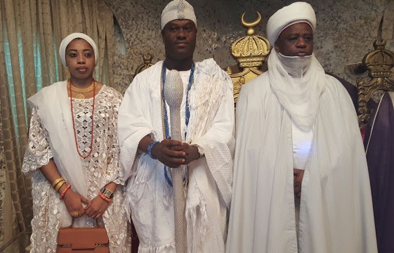 Ooni Of Ife And His Olori Visits Sultan Of Sokoto  (Photos)