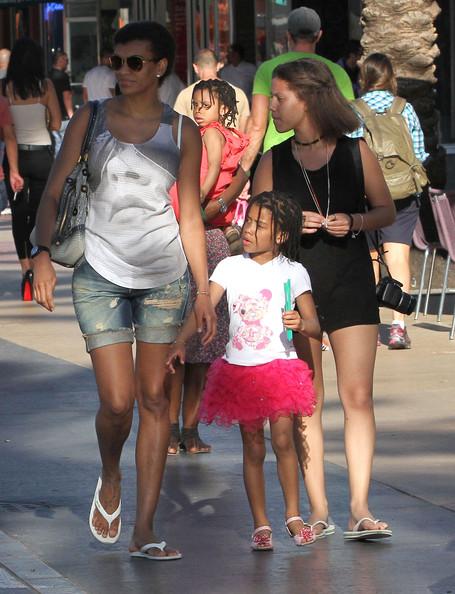 Samuel Eto's Wife and kids