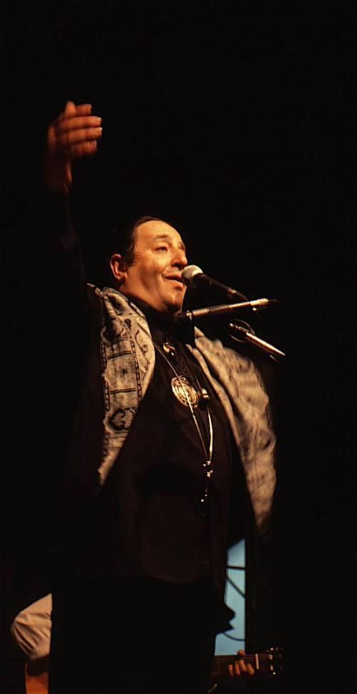 Marcello Colasurdo al festival Effetto Venezia a Livorno 1999