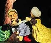 Il Basilicone e i Due Gobbi, fiabe di Toscana, teatro di figura, burattini, marionette