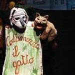 Codamozza il Gatto, teatro di figura, burattini, marionette, Le Mille e una Notte