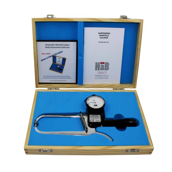 Harpenden Skinfold Caliper with Body Assessment Software