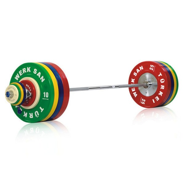 190CSET01-190kg Olympic Rubber Training Set