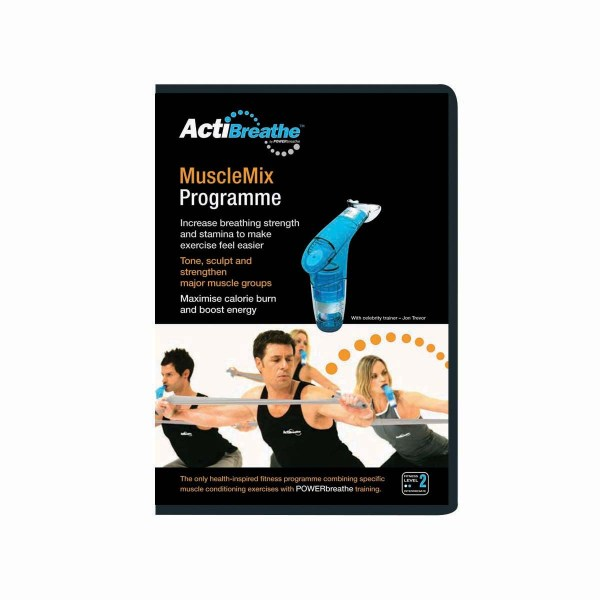 ActiBreathe MuscleMix Workout DVD