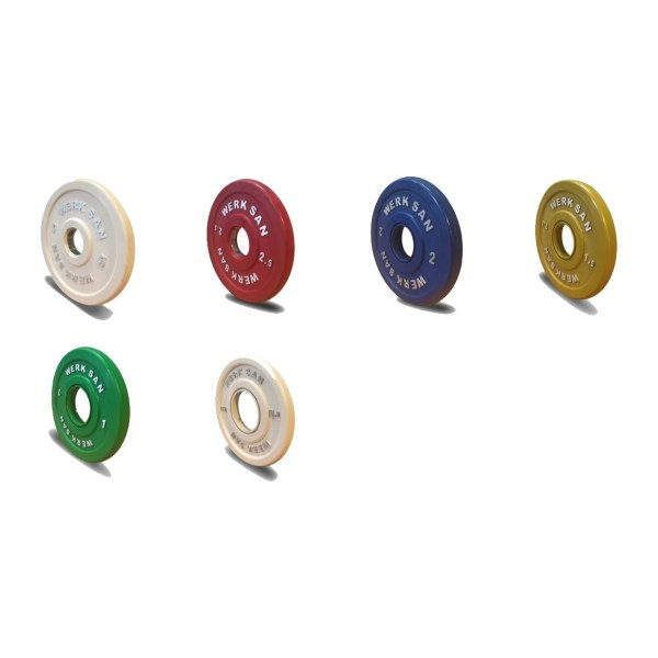 SCRT-C-Coloured Training Plates (Rubber)