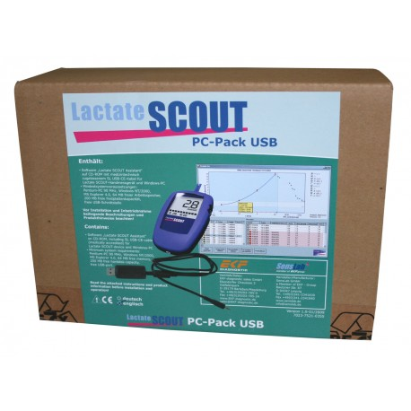 lactate scout usb pack