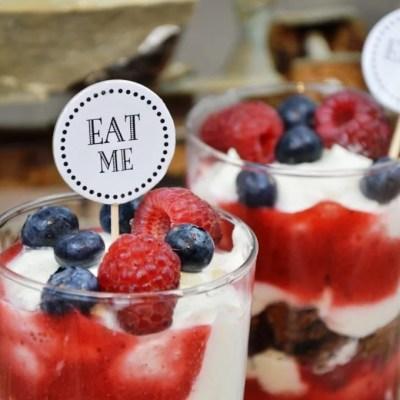 Laktosefreies Joghurt Beeren Dessert