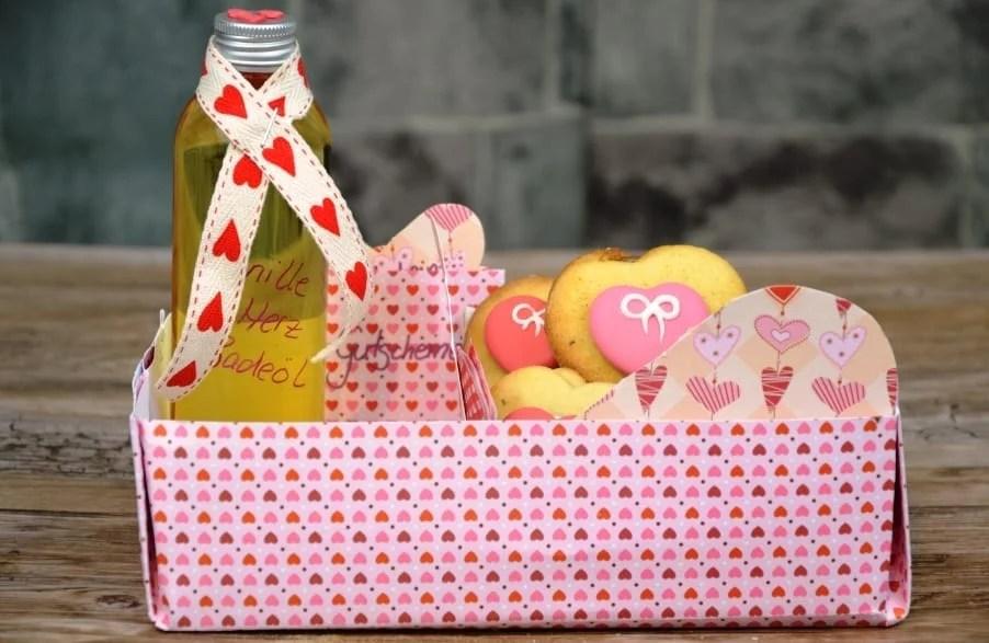 selbstgebasteltes Valentinstags Geschenk