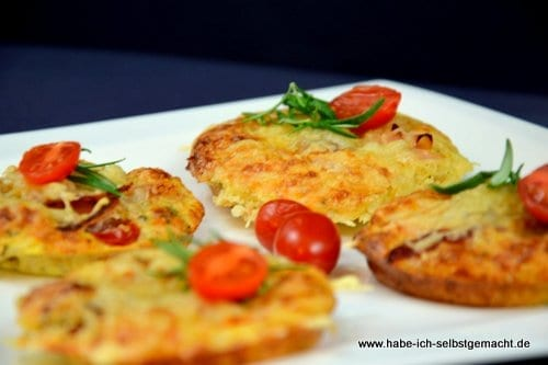 Low Carb Mini Pizza