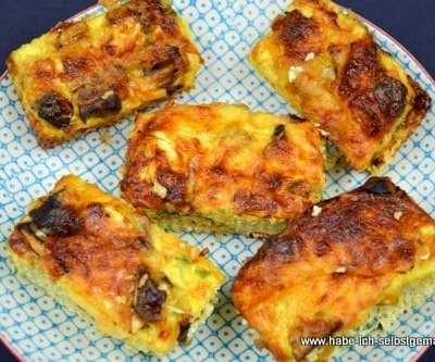 Low Carb Gemüse Tortilla