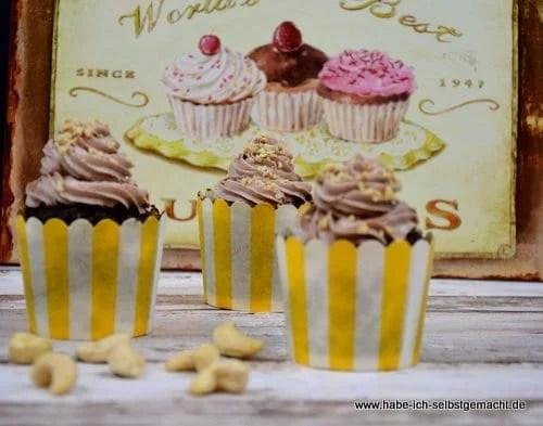 Low Carb Schoko Cupcakes