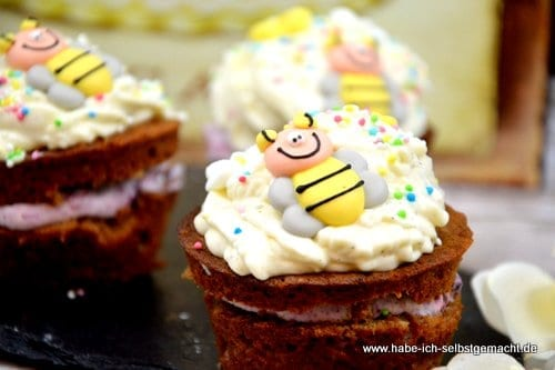 Schoko Haselnuss Cupcakes