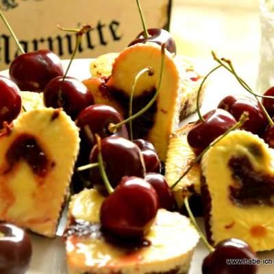 Brownie Kirsch Cheesecake