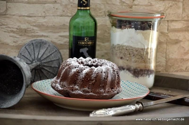 Backmischung Rotwein Schoko Kuchen