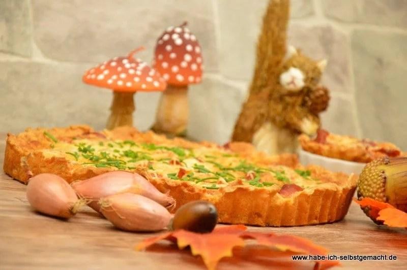 Gorgonzola Parma Zwiebelkuchen