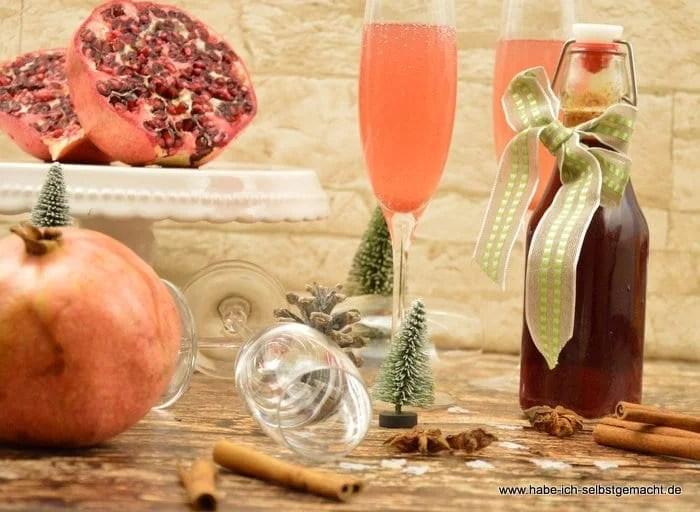 Granatapfel Sirup 3