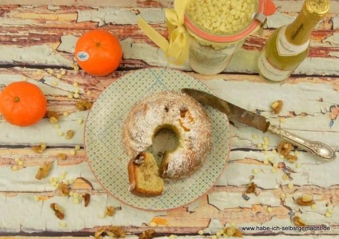 Mandarinen Champagner Kuchen