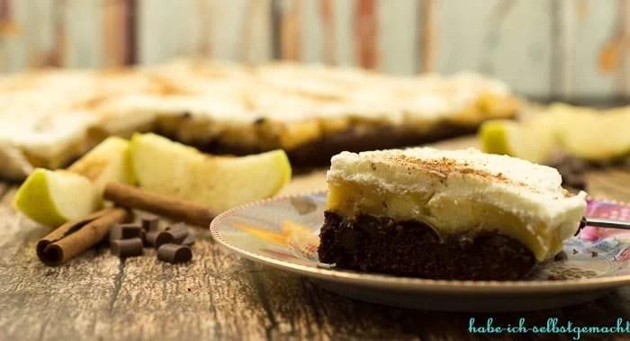 Brownie Apfelkuchen