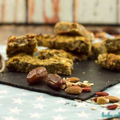 Gesunde Superfood Granola Bars – zuckerfrei, glutenfrei & vegan