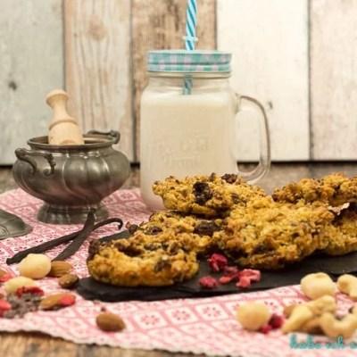 Gesunde Nuss Cookies