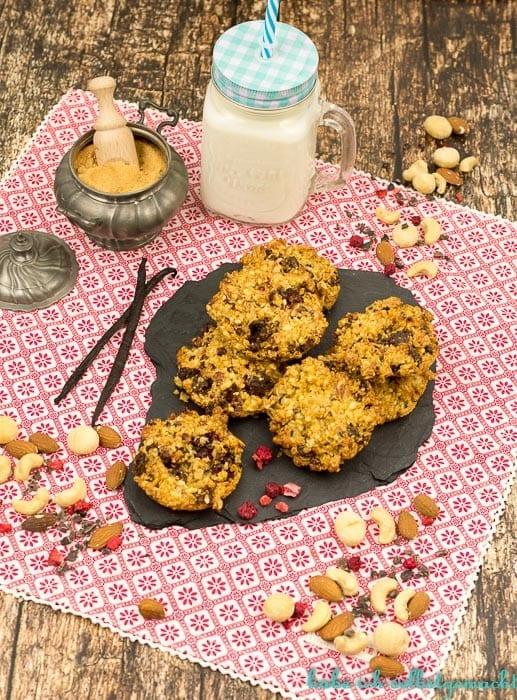 Healthy Nuss Cookies