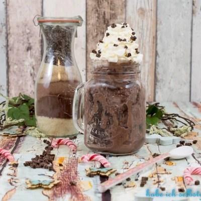 Schokoladen Eis Mischung zum Verschenken