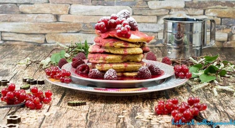 Gesunde Pancakes mit Hafer