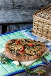 Pizzabrot // Bildquelle: Madame Rote Rübe
