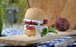 Rote Rüben Burger // Bildquelle: My F(l)avourites