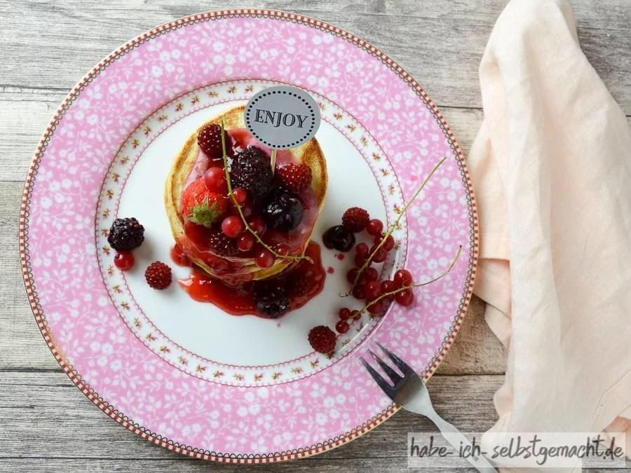 Schnelle Pancakes zum Sonntags-Frühstück