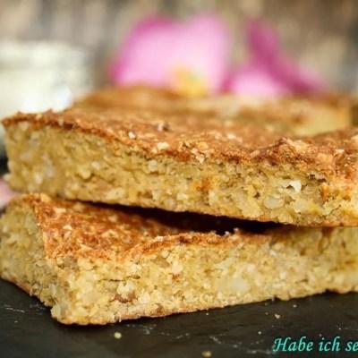 Erdnuss Proteinriegel selber machen