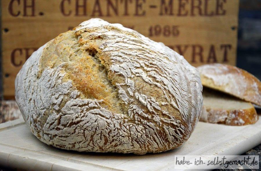 Rezept für Französisches Boule Brot