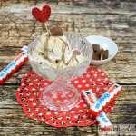 Rezept für Kinderschokolade-Eis
