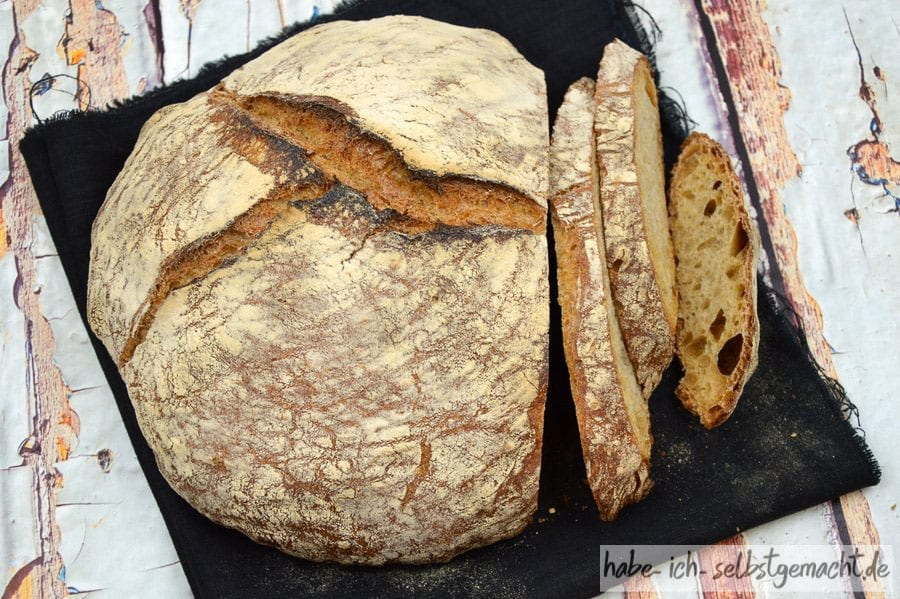 Weizen Sauerteig Brot