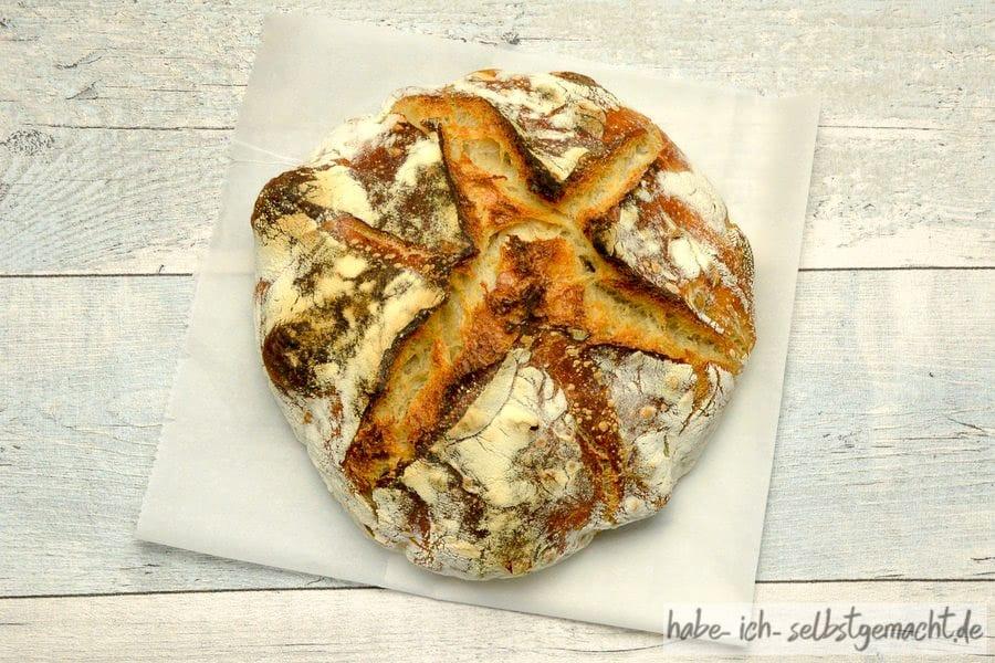 Essen wie Gott in Frankreich: Französisches Weizenbrot, doppelt gebacken