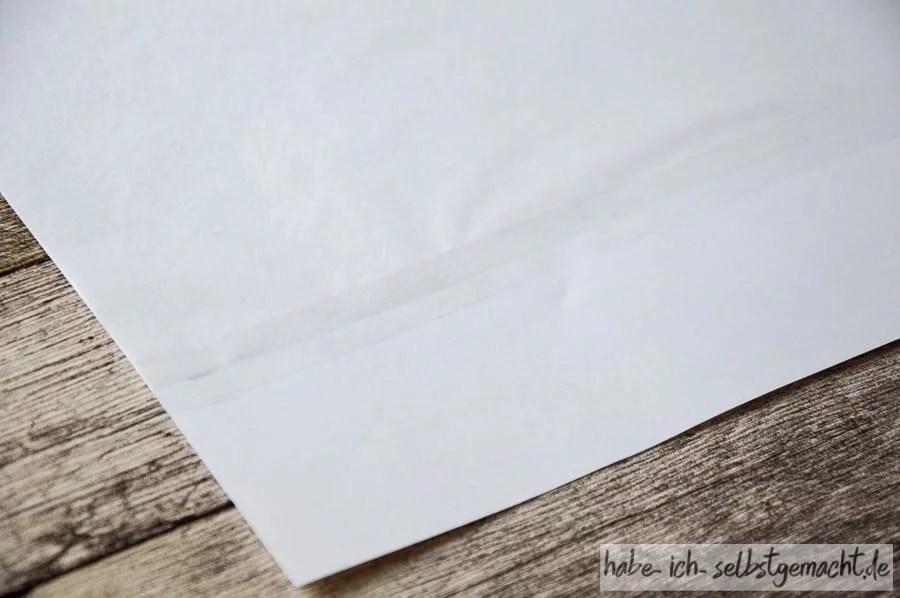 DIY Valentinstag Kerzen selber basteln - Seidenpapier für den Drucker