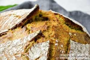 Bärlauch Brot - Dicke, krachende Kruste