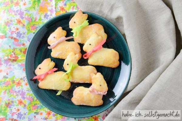 Süße Quark-Hasen