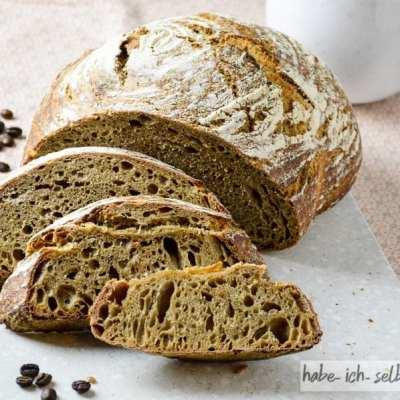 Brot #31- Hallo Wach! Kaffee Sauerteig Brot