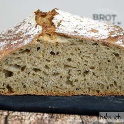 Brot #37 – Weizen Sauerteig Brot mit geröstetem Restbrot