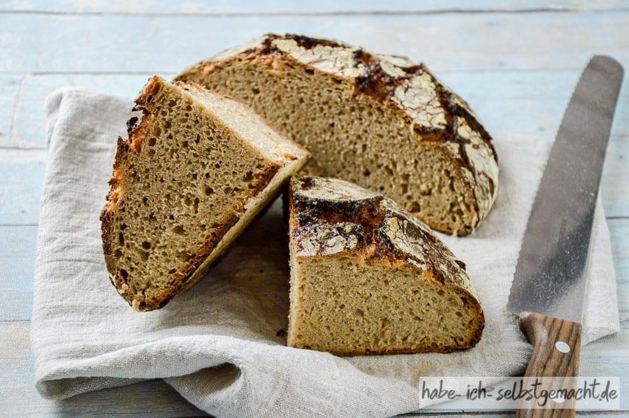 Reines Roggen Sauerteig Brot