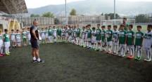 Bursaspor Futbol Okulu'nda sertifika heyecanı