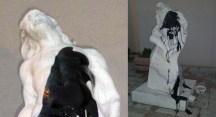 Nilüfer'de ikinci heykel vakası