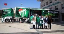 Nilüfer Belediyesi'nden Bursaspor'a tam destek