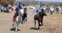 Akçalar Rahvan At Yarışları nefes kesti